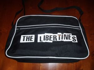 RETRO 70`S STYLE `THE LIBERTINES` SPORTS BAG